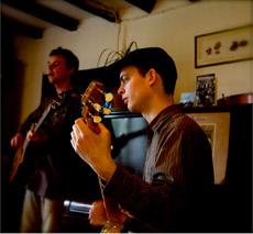 Dan Stewart on the Banjo