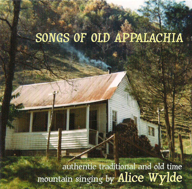 Songs of Old Appalachia - front