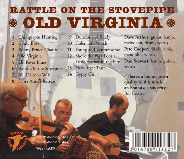 Old Virginia - back